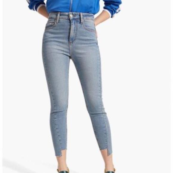 766e8e6d7263 ASOS Denim - Asos Stradivarius Super High Waist Skinny Jeans